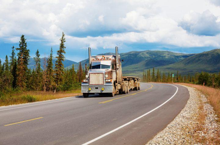 Dalton Highway in Alaska