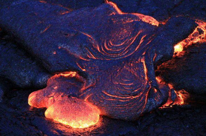 Lava Flows From Hawaiis Kīlauea Volcano