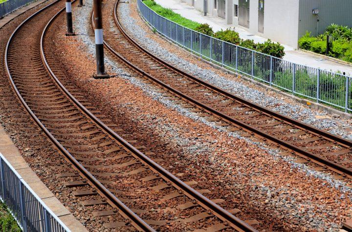 Railway, Eisenbahnschienen