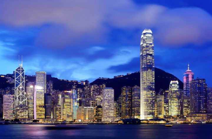 Hong Kong and victoria harbour